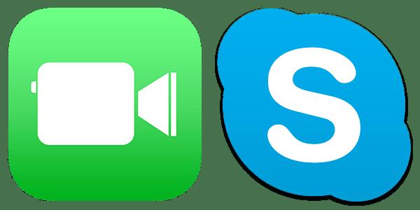 skype facetime